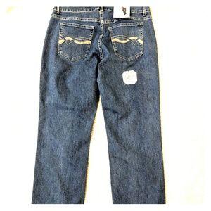 NWT Lee Riders Mid Rise Straight Leg Mom Jeans 10P